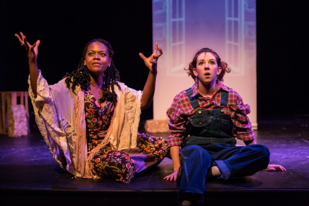 The Tank and FEAST present Corey and Vanessa Present an All-Female Educational Touring Production of Of Mice and Men, a new devised play directed by Alex Randrup, at The Tank NYC