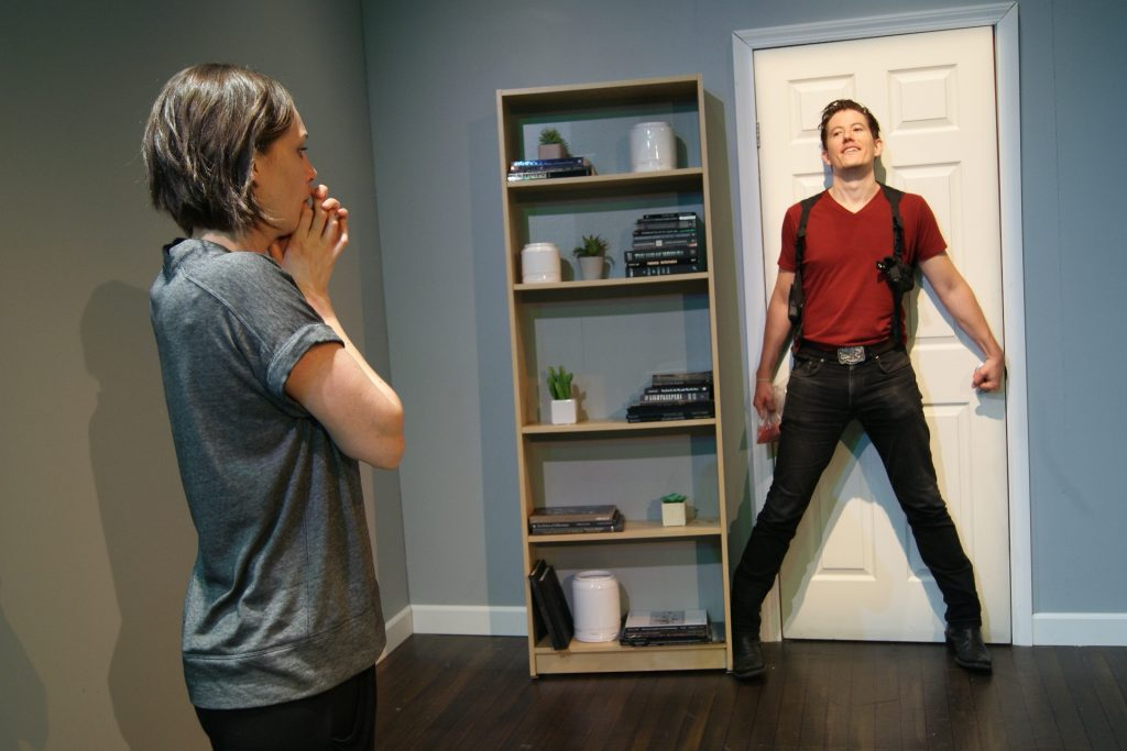 The Mill Theatre presents WORSE THAN TIGERS, written by Mark Chrisler, directed by Jaclyn Biskup, at The New Ohio, photo courtesy of The Mill Theatre