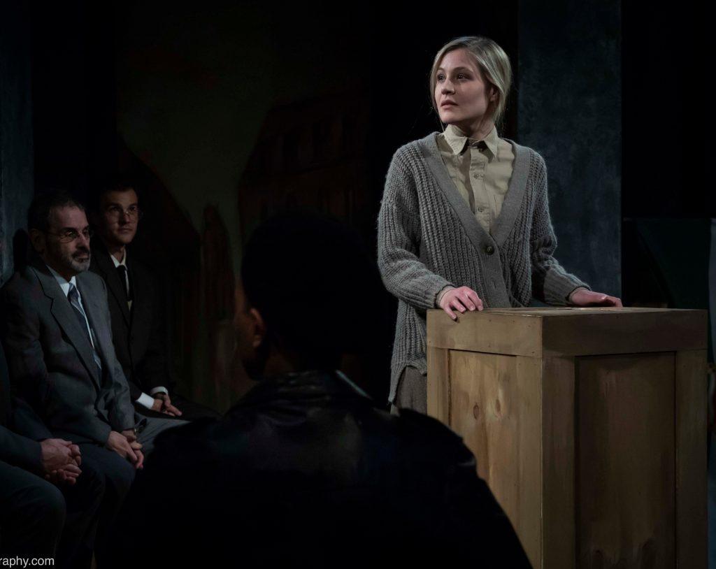 Metropolitan Playhouse presents SHADOW OF HEROES, written by Robert Ardrey, directed by Alex Roe, photo by Emily Hewitt