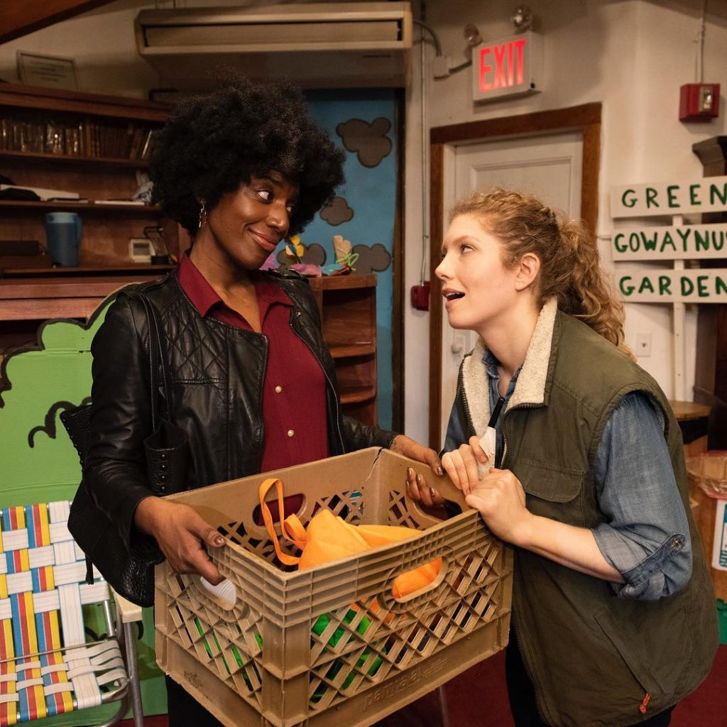 Theater in Asylum, in partnership with The Episcopal Actors' Guild Open Stage Grant presents TOTALLY WHOLESOME FOODS, written by Alice Pencavel, directed by Paul Bedard, photo by Ahron R. Foster