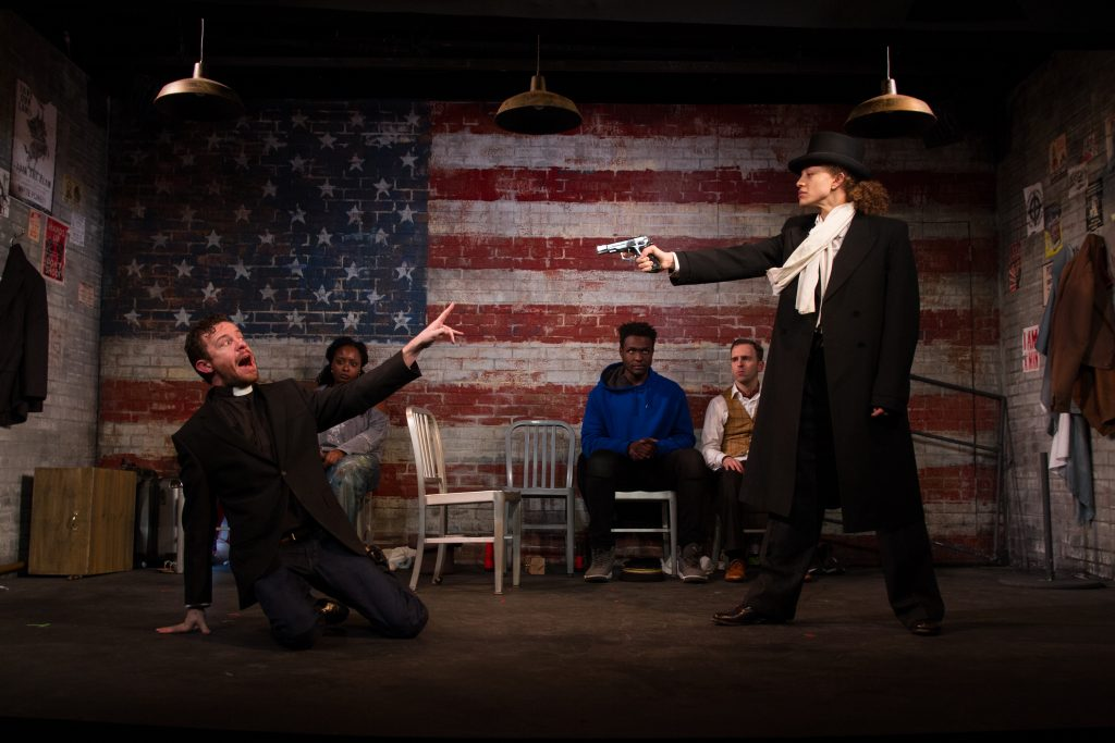 New Light Theater Project presents THE AMERICAN TRADITION, written by Ray Yamanouchi, directed by Axel Avin Jr., at 13th Street Repertory Company, photo by Jody Christopherson