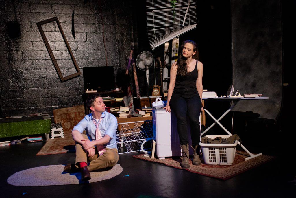 IRT presents Random Access Theatre's production of MIRANDA FROM STORMVILLE, written by Adam Bertocci, directed by Jennifer Sandella, photo by Rachelle White
