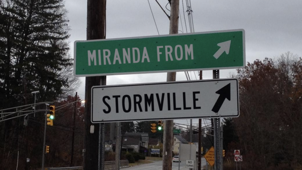 IRT presents Random Access Theatre's production of MIRANDA FROM STORMVILLE, written by Adam Bertocci, directed by Jennifer Sandella