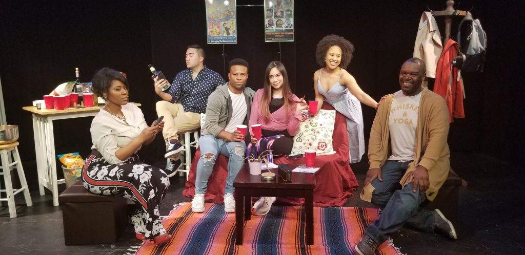 The Riant Theatre's Strawberry One-Act Festival presents OPPORTUNITY, written by Stanley Martin, directed by Michael Blatt, photo by Van Dirk Fisher