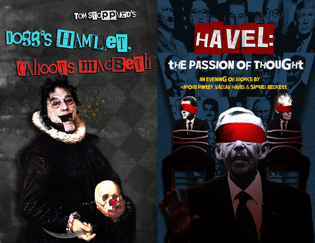PTP/NYC presents HAVEL: THE PASSION OF THOUGHT, in rep with DOGG'S HAMLET, CAHOOT'S MACBETH at Atlantic Stage 2