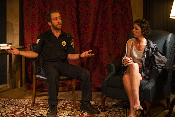 Hunger and Thirst Theatre presents STRANGERS IN THE NIGHT at The West End Theatre, photo by Al Foote III