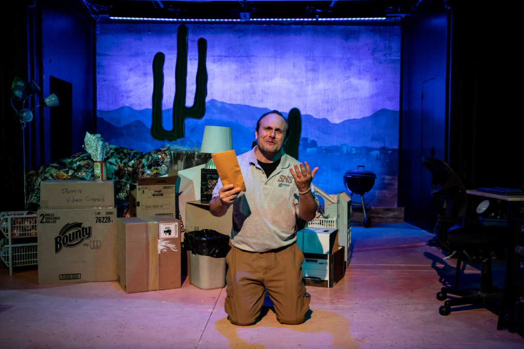 All For One Theater presents MONSOON SEASON by Lizzie Vieh, directed by Kristin McCarthy Parker, photo by Maria Baranova